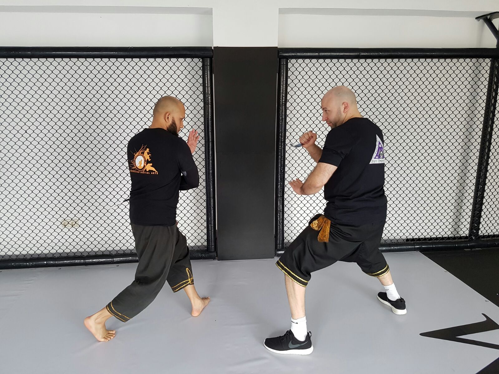 April 1016 : Privat Training/Fortbildung  with Ash Miah einem der Top SBL Silat Trainer Londons (UK)